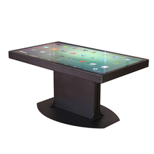 Coffee House 55 inch interactive multi touch table/foor standing digital signage