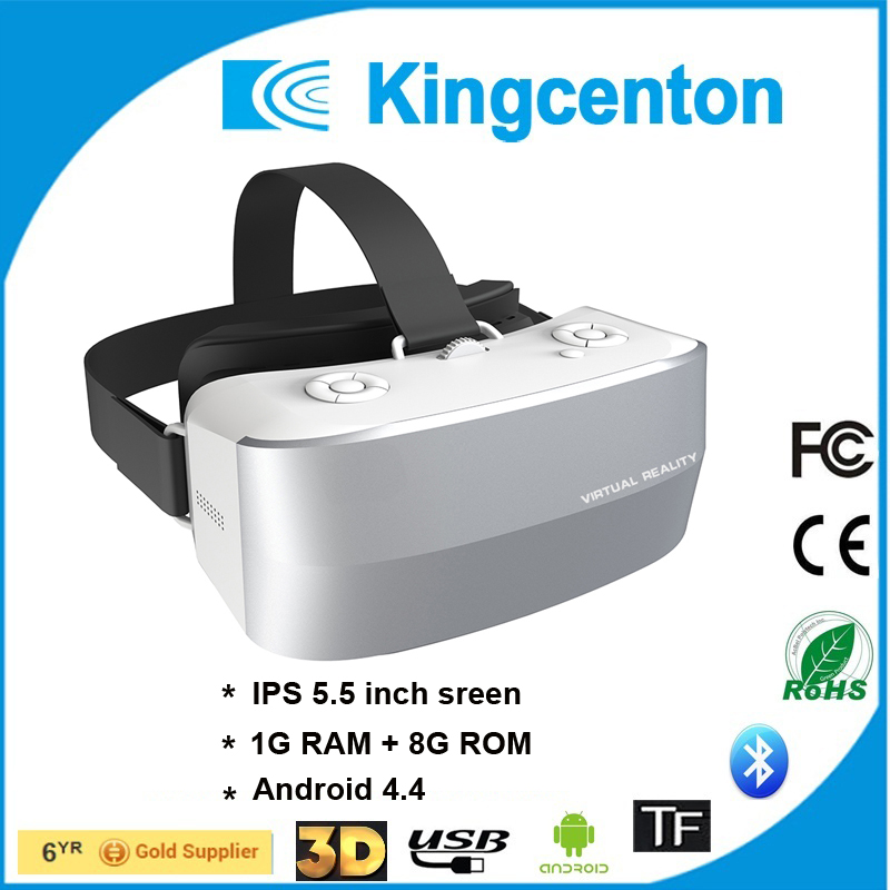 2017 new free gift high quality youtube video 3d glasses 3gp video player