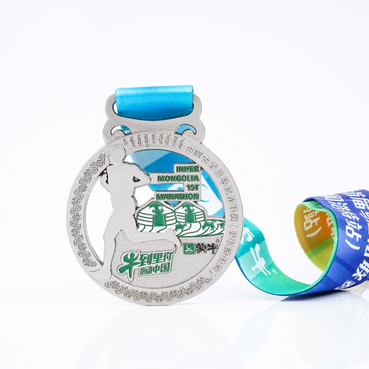 Wholesale Silver Hollow Custom Awards Medal Sport Game