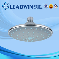 2016 new style ultra thin abs waterfall shower head,rotating shower heads,swivel showers W-150
