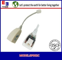long time warranty voice phone ADSL Splitter with dual jack 256753