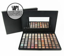 European cosmetic brands ! 88 color warm eye shadow palette G# cosmetics wholesale