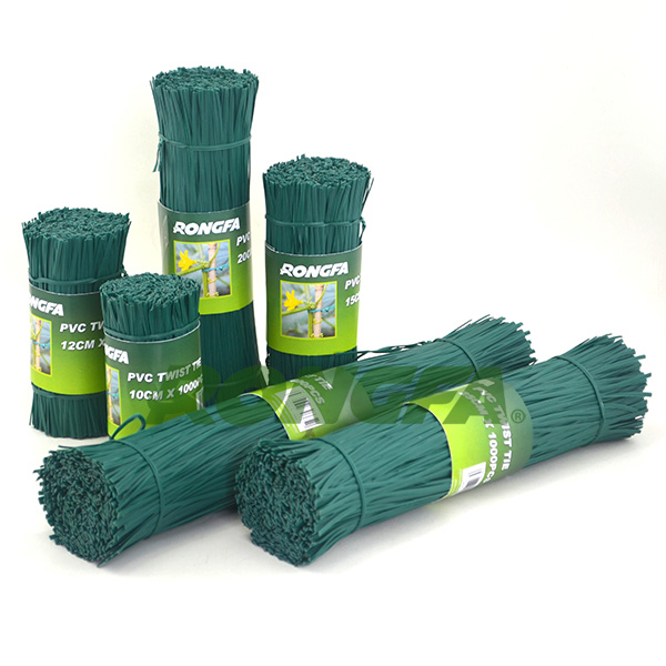 2.6mm x 25cm biodegradable pre cut garden plastic wire ties
