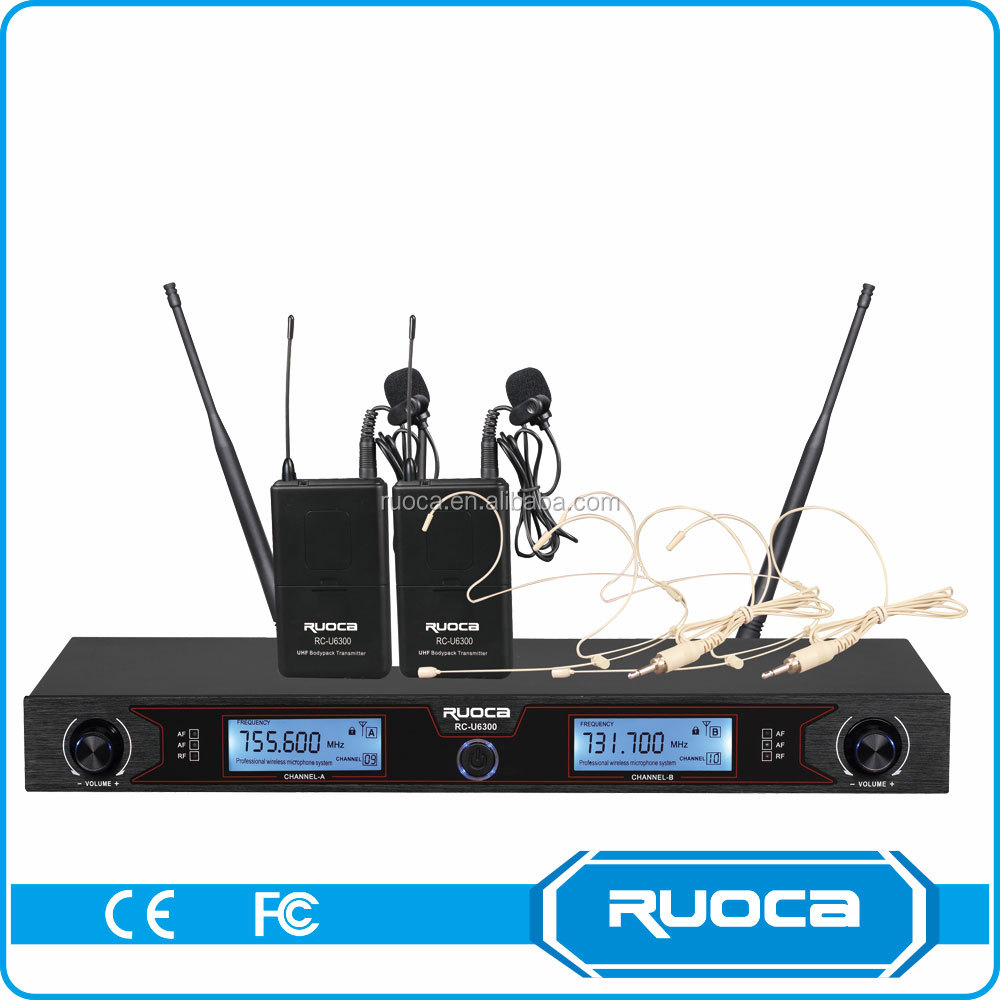 Mini conference Hall Professional Fm Wireless Microphone