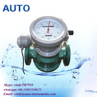 diesel fuel flow meter engine oil flow meter manufacturer China YANTAI