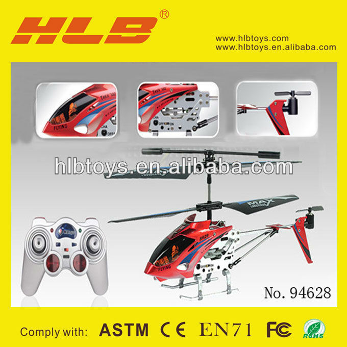 3.5CH Infrared Metal RC Helicopter S929WL Model