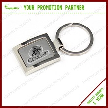 Hot Selling Promotional Metal Key Chain, MOQ 100 PCS 0403076 One Year Quality Warranty
