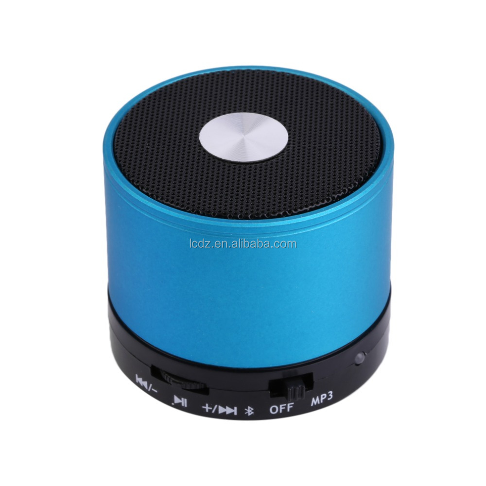 Hot sale Cannon shaped 350mAh cheap led wireless music mini bluetooth speaker