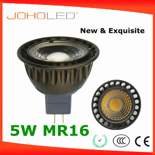 Aluminium CRI 80 bivolt cob mr16 led spot light mr16 220v 5w ce rohs ac/dc 12v mr16 led