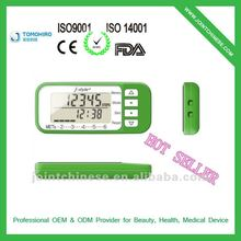 2012 The Best China High Quality Precise Branded Pedometer With Aerobic Step Count, A Few Steps Toward a Healthier Life