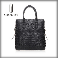 Wholesale china 100% genuine crocodile skin leather handbag hong kong
