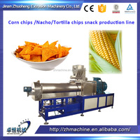 Mexican tortilla chips processing machine