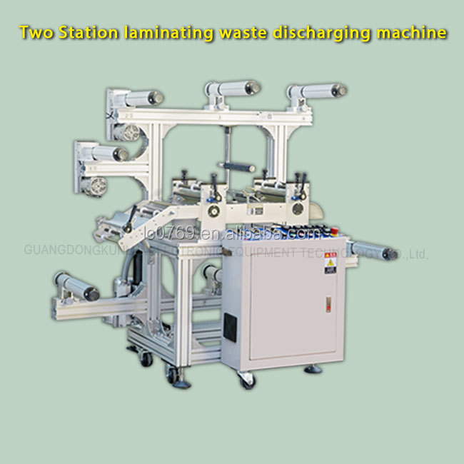 KL--- 1300 automatic two position vinyl laminating machine price in PVC card