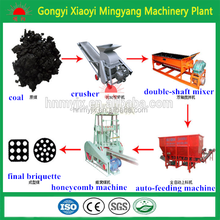 Honeycomb Briquetting Machine/coal briquette shaping machine/charcoal powder briquette pressing machine008613838391770