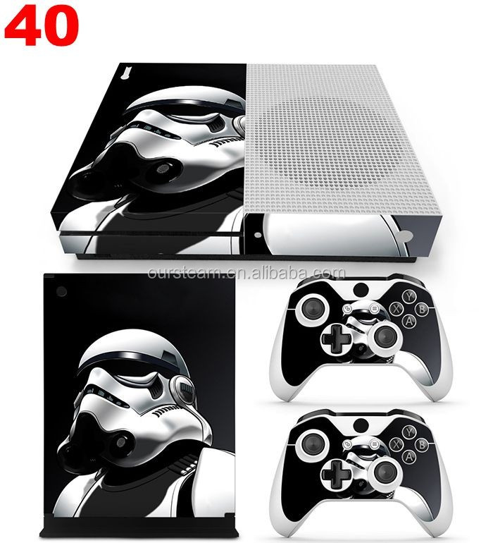 Protective Vinyl Customized Cover Skins Stickers for Microsoft Xbox One S Console Controllers