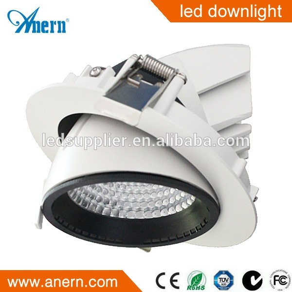 Dimmable Rectangular Recessed IP44 7W Led Spot Downlight