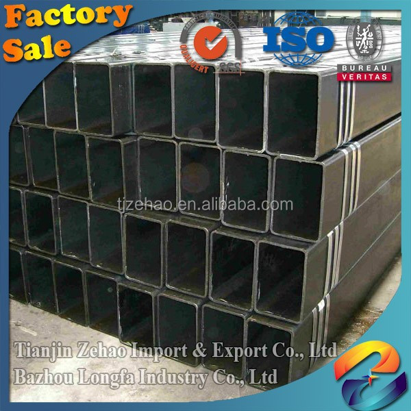 Hollow section ASTM A500 grade ERW Black Steel round tube/Pipe for construction material