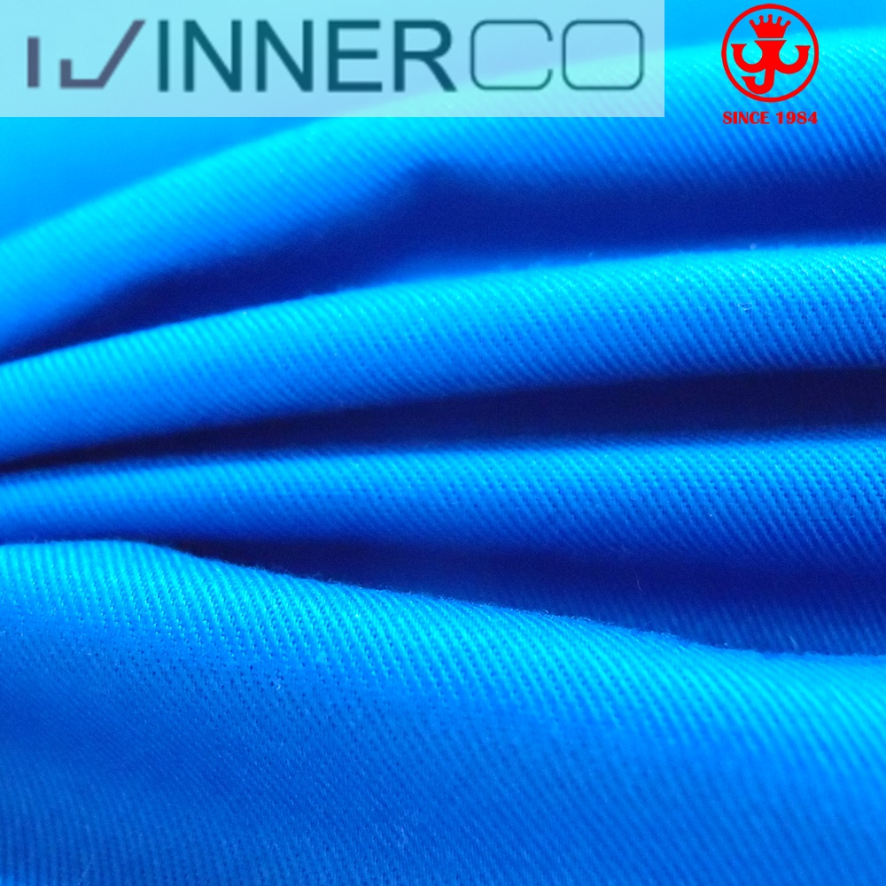 100% cotton twill woven fabric for workwear