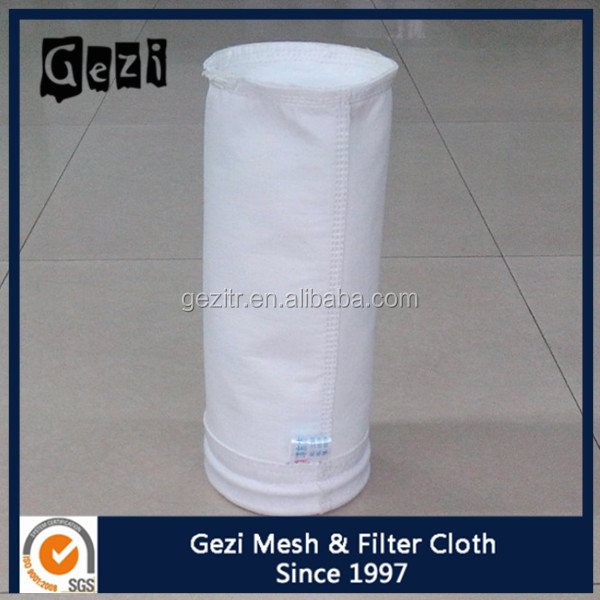 Gezi manufacture supply high quality press filter bag for food grade