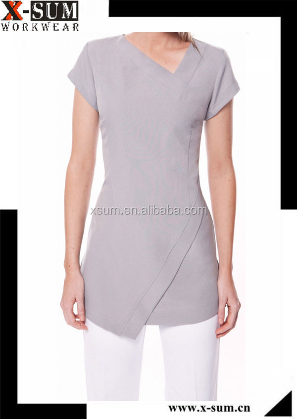 Women spa beauty salon uniform buy spa beauty salon for Spa uniform indonesia