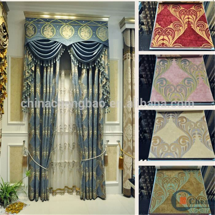 Home Decor Motorized Embroidery Turkish Curtains
