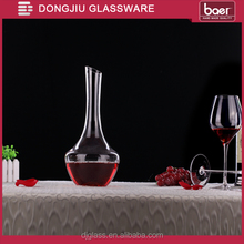 Mouth-Blown 1000ml Clear Lead-free Crystal Wine Decanter