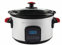 XJ-13218A 3.5L Digital Ceramic Slow Cooker