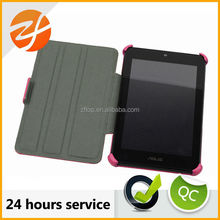 OEM high quality smart book style flip cellphone cover leather phone case for Asus ME173X case