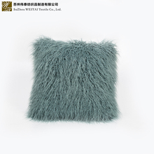 Factory supply wholesale faux fur fabric cushion warm soft comfortable cover