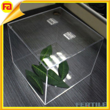 Clear Acrylic Cube Box , Transparent Acrylic Display Boxes , Acrylic Display joint Cube