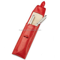 Huaben 2015 luxury small leather pen case