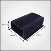 High Density aluminum case with black anodizing,OEM order welcomed