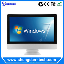 21.5 inch Touch monitor price of desktop computer set I-series