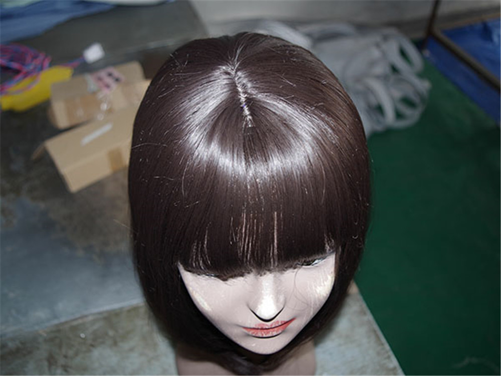 Jiangsu dongqing argentina virgin hair Straight hot sell mohawk hairstyle wig