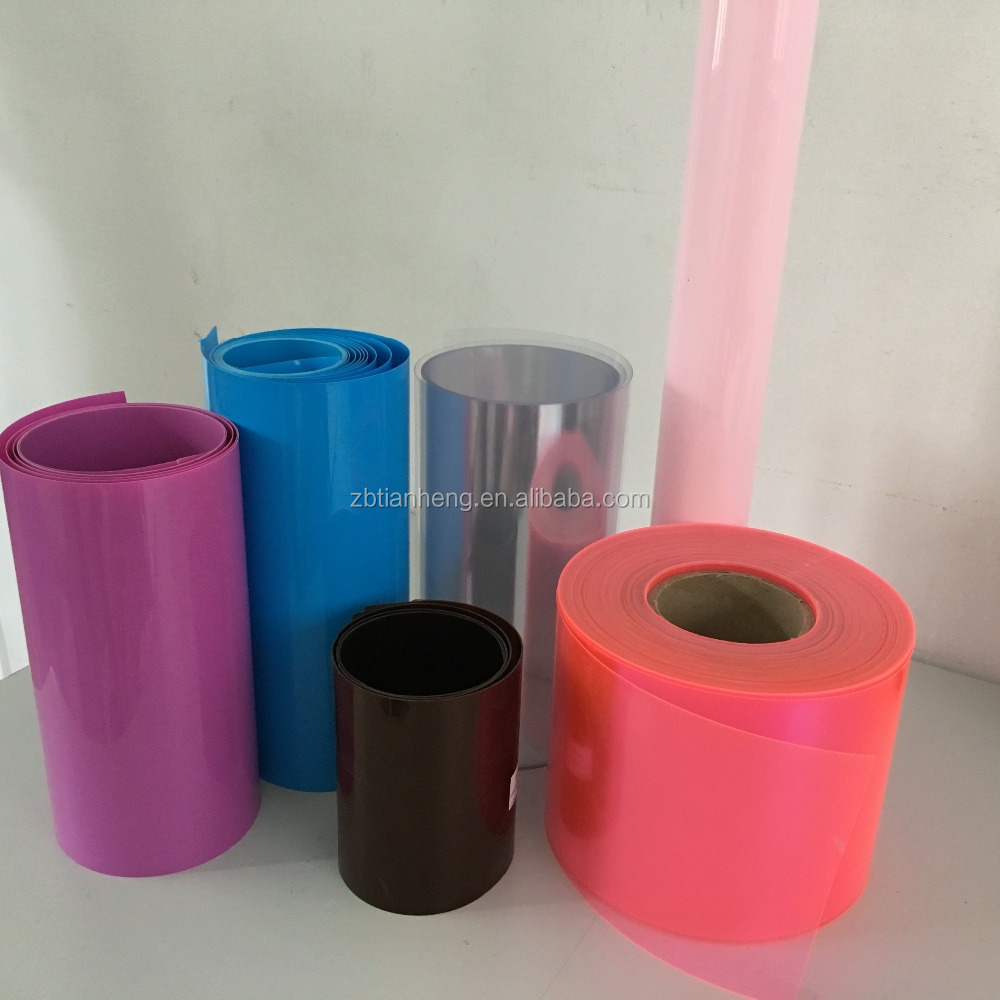 Vivid color PVC rigid film for blister packing