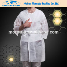 disposable kimono for spa use,spa beauty sauna gown,pp nonwoven kimono