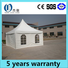 High quality outdoor 5m x 5m aluminum pagoda tent for event