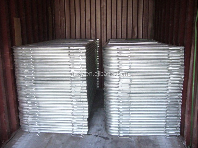 factory wholesale galvanised steel pedestrian barriers