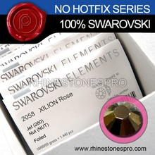 Promotional Swarovski Elements Jet Nut (280 NUT) 16ss Flat Back Crystal Non HotFix