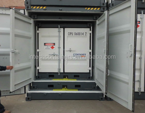 Mini DG and Chemical Storage, Self Storage Container Bunded Floor,