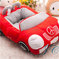 2016 Hot Sales Car Shape 100% Cotton Dog Pet House With Aceept Custom