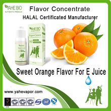 Super concentrate sweet orange e-liquid flavor concentrate--11 years flavor manufacturers