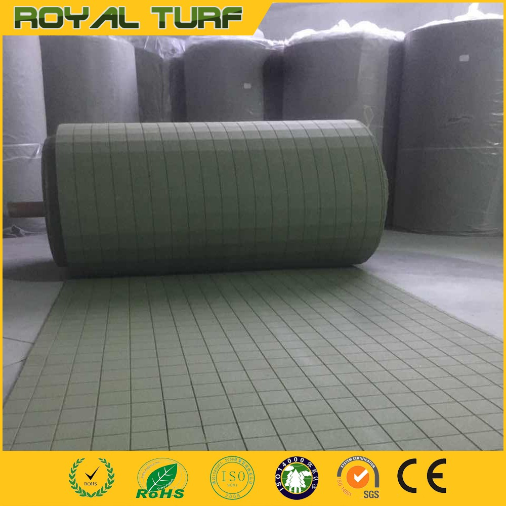 10mm 20mm Thickness Shock Pad for Artificial Grass