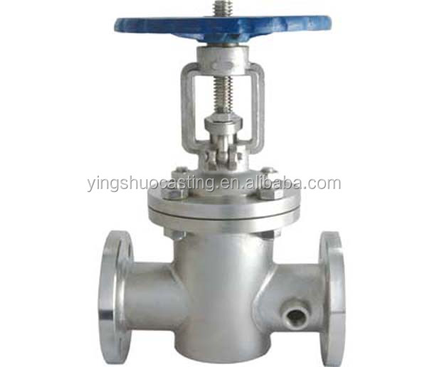 China precision alloy steel casting gate valve