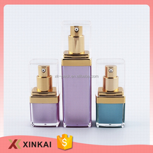 Low price cosmetic plastic decorative lotion bottles