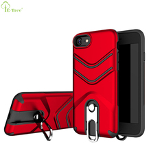 2018 New Hook Rack Function Kickstand Hybrid Armor Phone Cover Case For iPhone 8