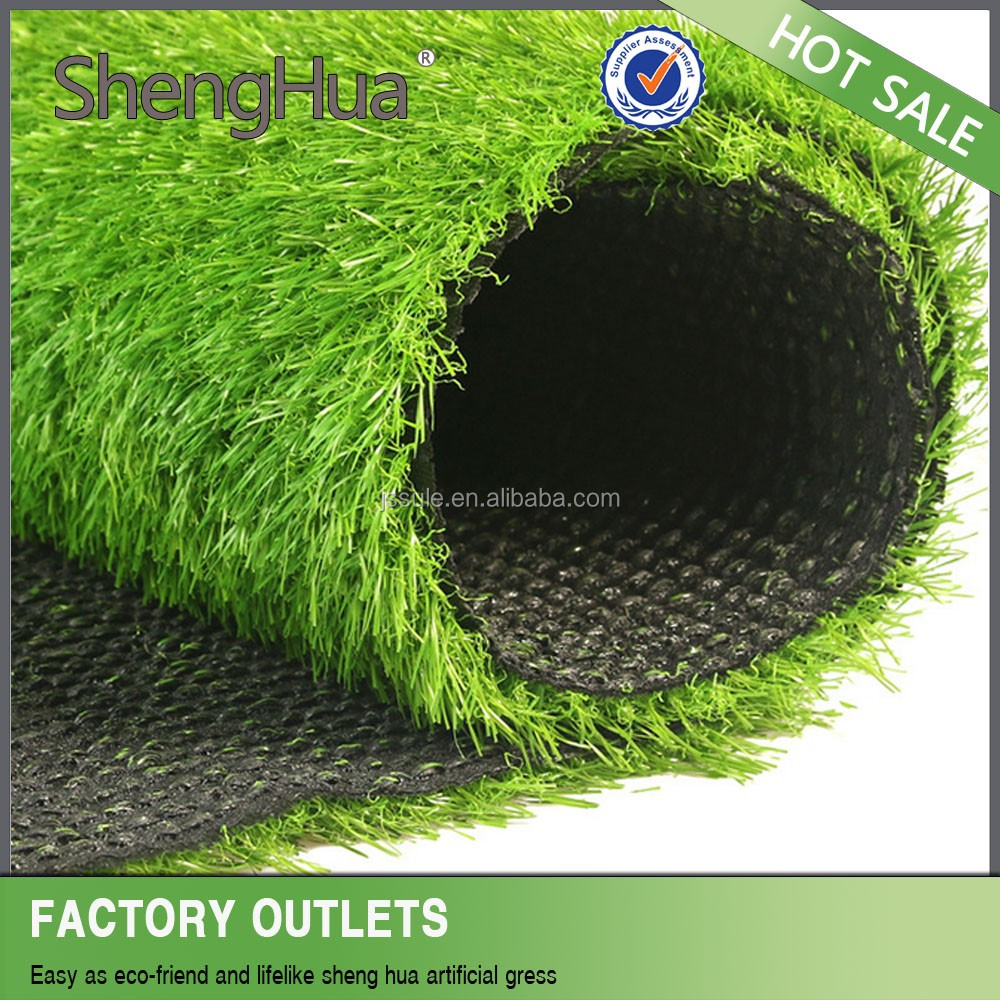hot selling Popular CE approved soccer ball pitch artificial grass olive green