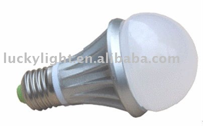 Dimmable 5W E27 LED bulb