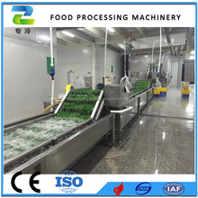 green peas frozen processing machines/strawberry quick freezing production line/industrial vegetable and fruit machine