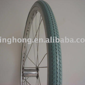 Polyurethane Solid PU Foamed Filled Flat Free Tyre